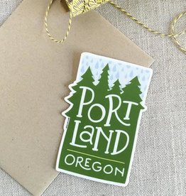 ACBC Sticker Portland Oregon Rain