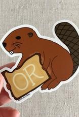 ACBC Sticker Oregon Beaver