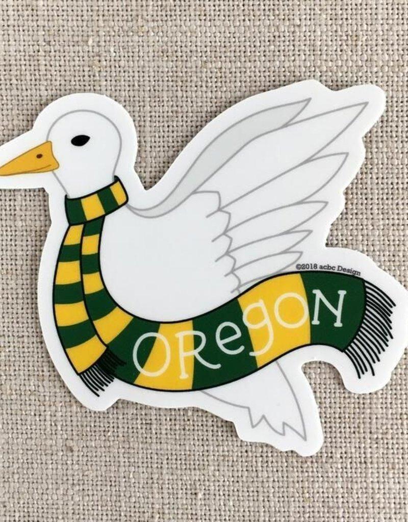 ACBC Sticker Oregon Duck