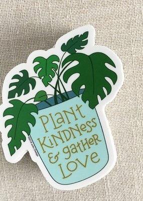 ACBC Sticker Plant Kindness