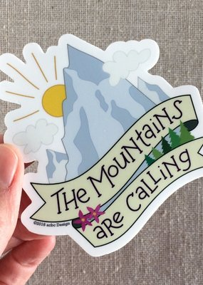 ACBC Sticker Mountains Are Calling