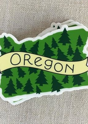 ACBC Sticker Oregon Trees