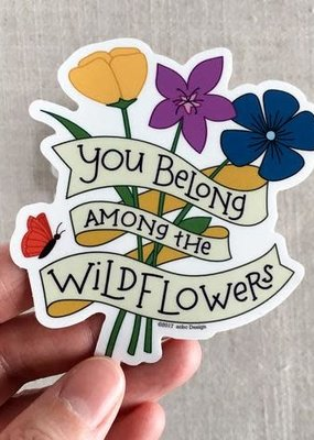 ACBC Sticker Wildflowers