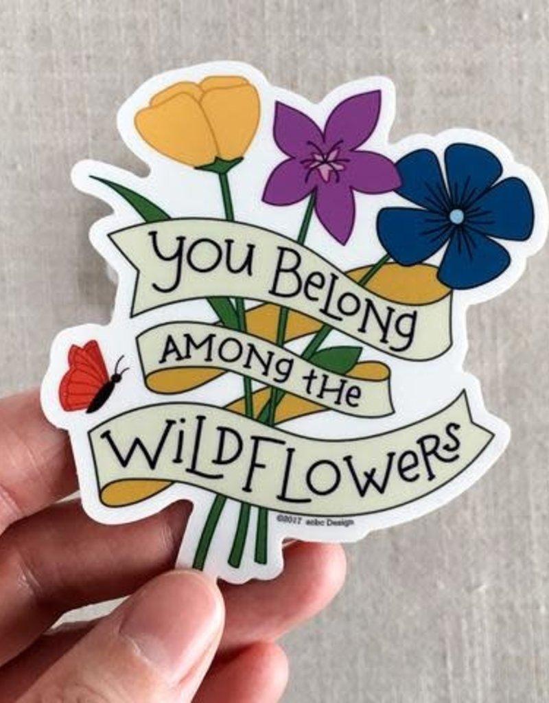 ACBC Sticker Wildflowers