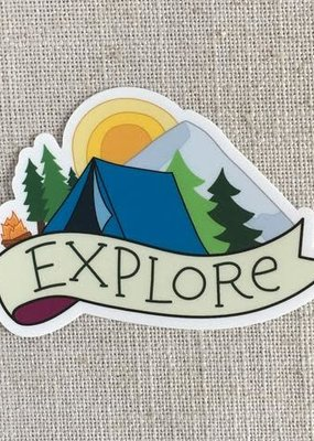 ACBC Sticker Explore Camping