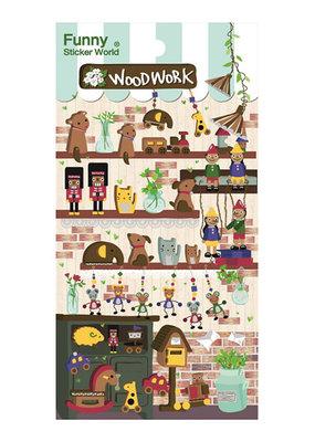 Stickers Woodwork