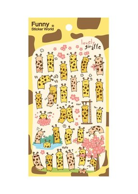 Stickers Giraffe