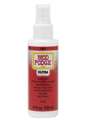 Plaid Plaid Mod Podge Ultra Spray On 4 Ounce Gloss