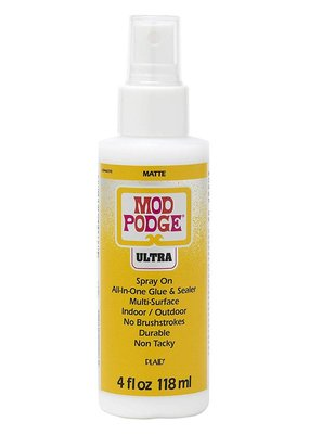 PA Essentials Plaid Mod Podge Ultra Spray On 4 Ounce Matte
