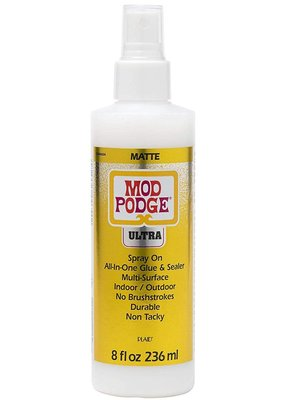 Plaid Plaid Mod Podge Ultra Spray On 8 Ounce Matte