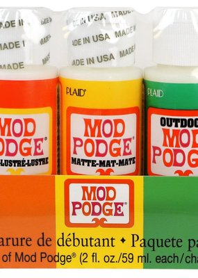Plaid Mod Podge Starter Set 5 Pack