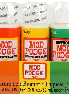 Plaid Mod Podge Starter Set 5 Pack