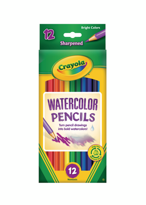 Crayola Crayola Watercolor Pencils 12 Piece Set