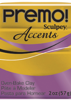 Sculpey Premo! Sculpey Modeling Clay 2 Ounce Antique Gold