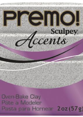 Sculpey Premo 2 Ounce Gray Granite