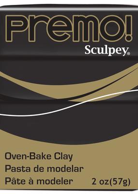 Sculpey Premo 2 Ounce Black