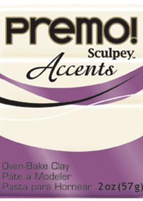Sculpey Premo 2 Ounce White Translucent