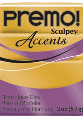 Sculpey Premo 2 Ounce 18k Gold