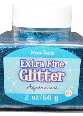 Sulyn Sulyn Glitter 2 Ounce Stack Jar Extra Fine Aquamarine