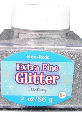 Sulyn Sulyn Glitter 2 Ounce Stack Jarr Extra Fine Sterling