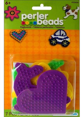 Perler Perler Fused Bead Pegboard Set Assorted 5 Piece