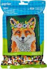 Perler Perler Fused Bead Kit Flower Crown Fox 3500 Piece