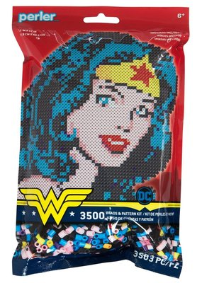 Perler Perler Fused Bead Kit Wonder Woman 3500 Piece