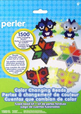 Perler Perler Fused Bead Kit 1500 Piece Color Changing