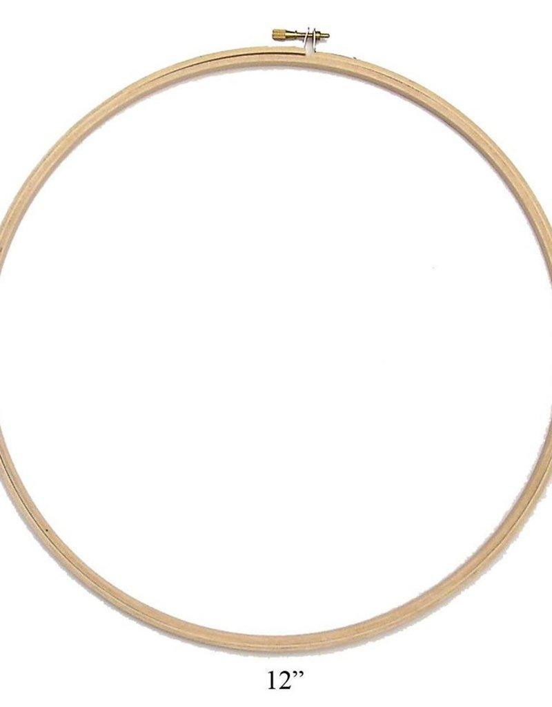 Darice Embroidery Hoop Wooden  12 Inch