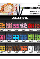Zebra Zebra Zensations Colored Mechanical Pencil