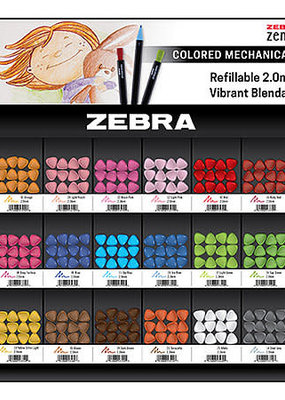 Zebra Zebra Zensations Colored Mechanical Pencil