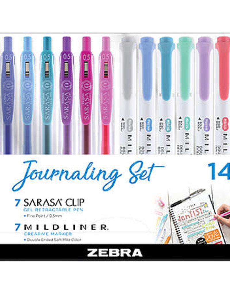 Zebra Zebra 14 Piece Journaling Set
