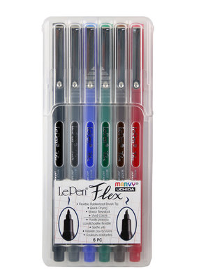Marvy-Uchida LePen Flex 6 Piece Primary Set