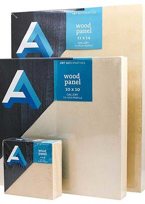 Art Alternatives Wood Panel Cradled 3/4 Inch Profile 12 X 12
