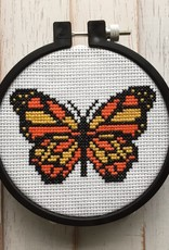 Spot Colors Cross Stitch Kit Butterfly