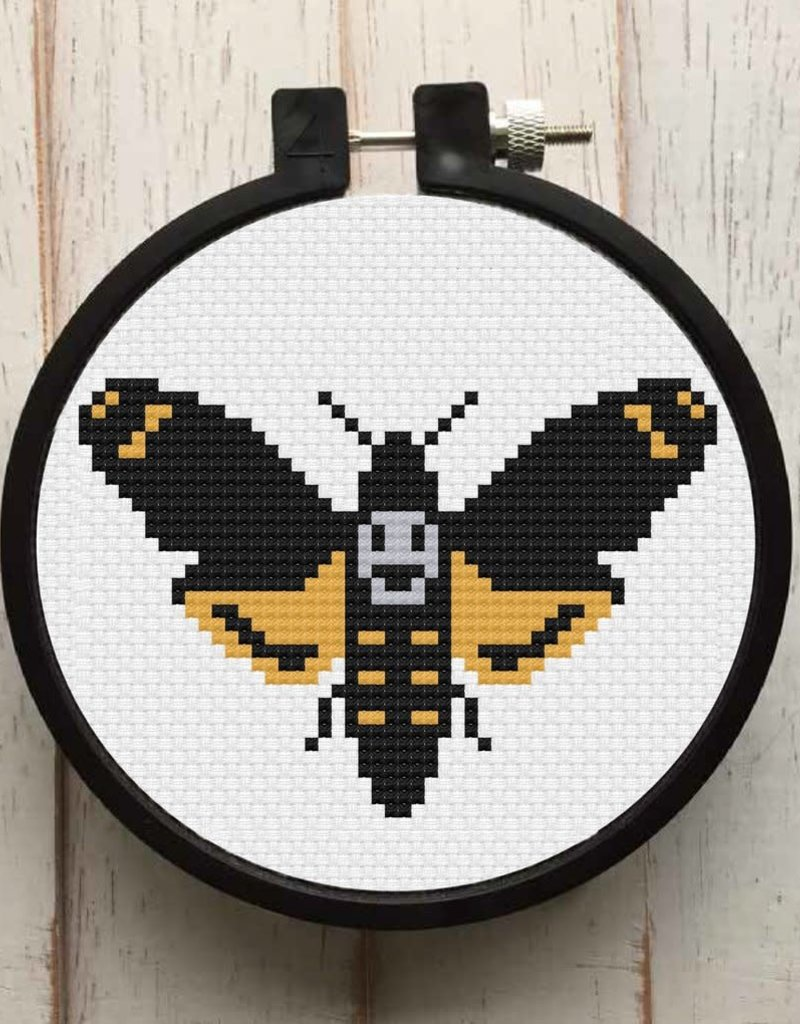 Spot Colors Cross Stitch Kit Moth