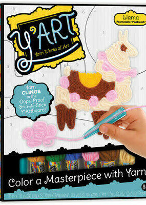 Kahootz Y'Art Craft Kit Llama