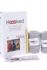 Hoooked Crochet Kit Storage Bag Grey