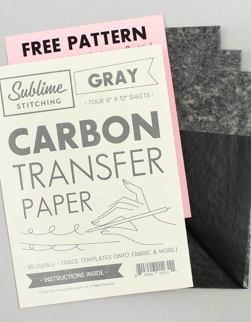 Sublime Stitching Carbon Transfer Paper Gray