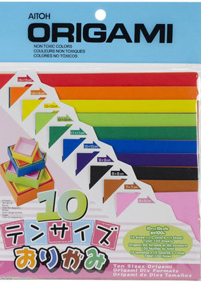 Aitoh Origami Paper 100 Sheet Pack