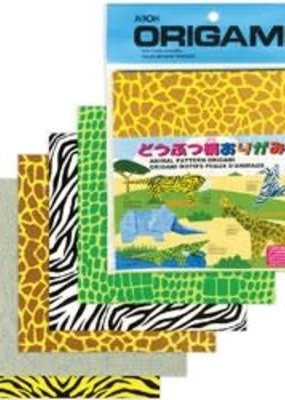 Aitoh Origami Paper Animal Prints 40 Pieces