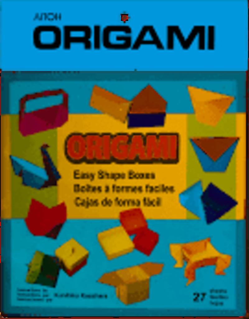 Aitoh Origami Kit Easy Boxes