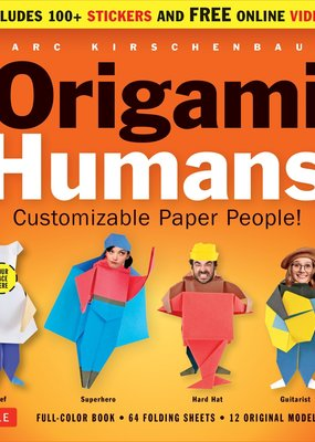 Tuttle Publishing Origami Kit Humans