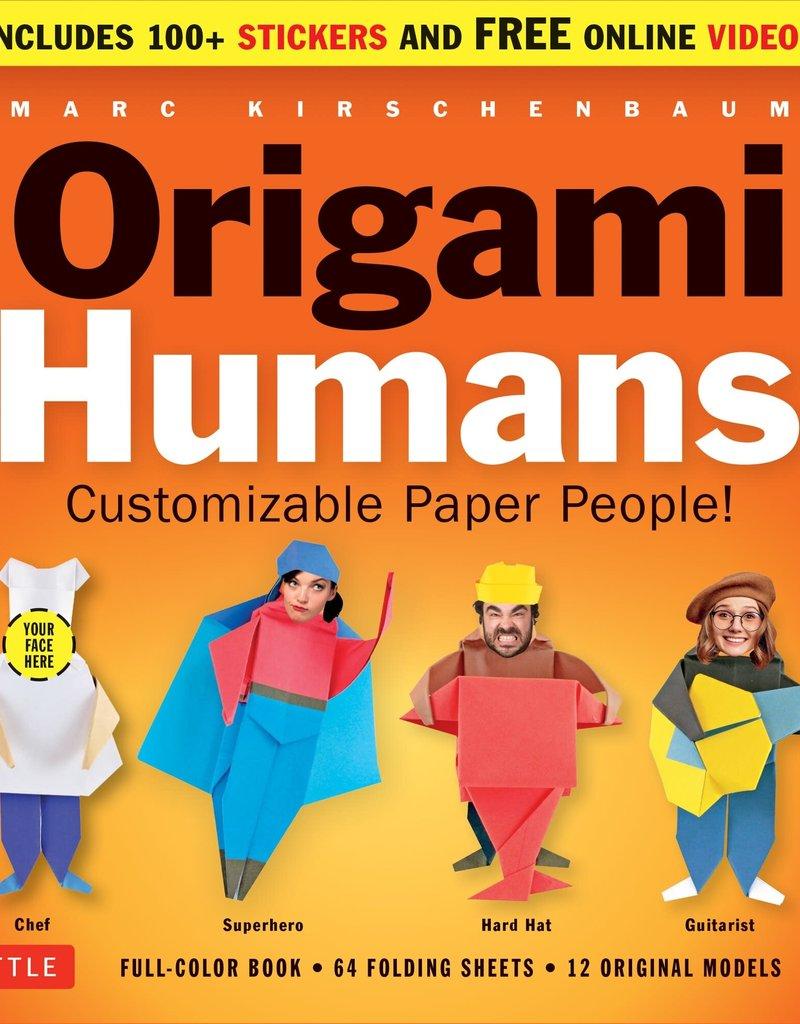 Tuttle Publishing Origami Kit Humans