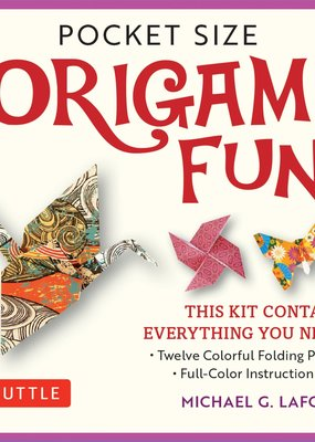 Tuttle Publishing Pocket Size Origami Fun