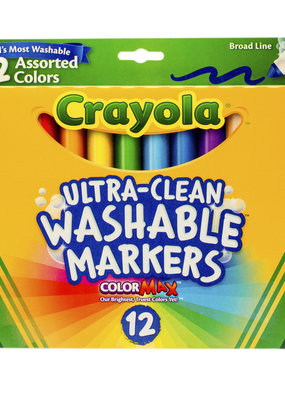 Crayola Ultra-Clean Washable Markers 12 Pack