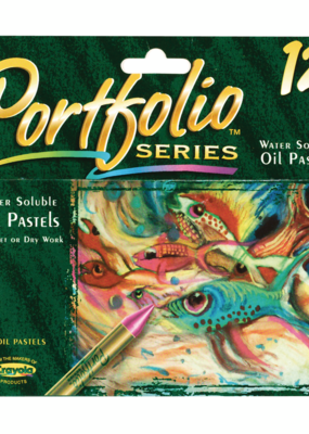 Crayola Portfolio Series Water Soluble Oil Pastels 12 Set