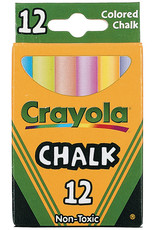 Crayola Chalk Colored Box Of 12
