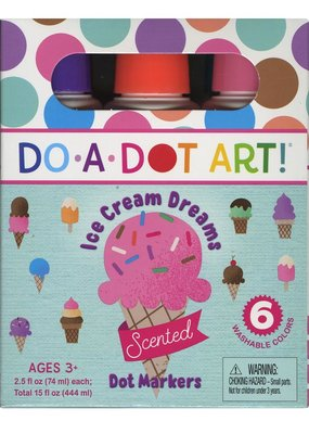 Do-A-Dot Do-A-Dot Art Marker Scented Ice Cream Dreams 6 Pack