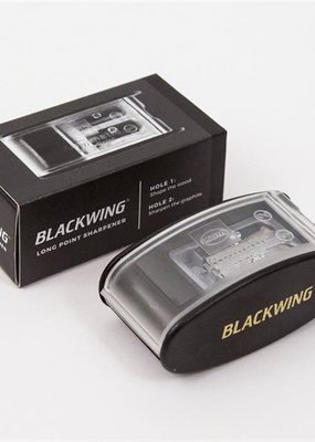 Blackwing Long Point Pencil Sharpener Black